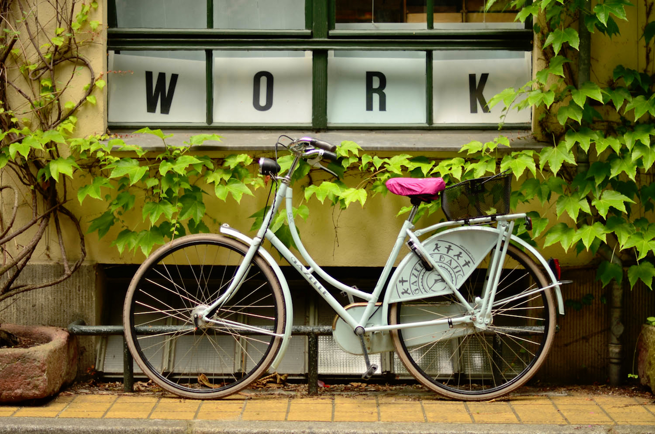 The trials of a digital nomad on 2 wheels