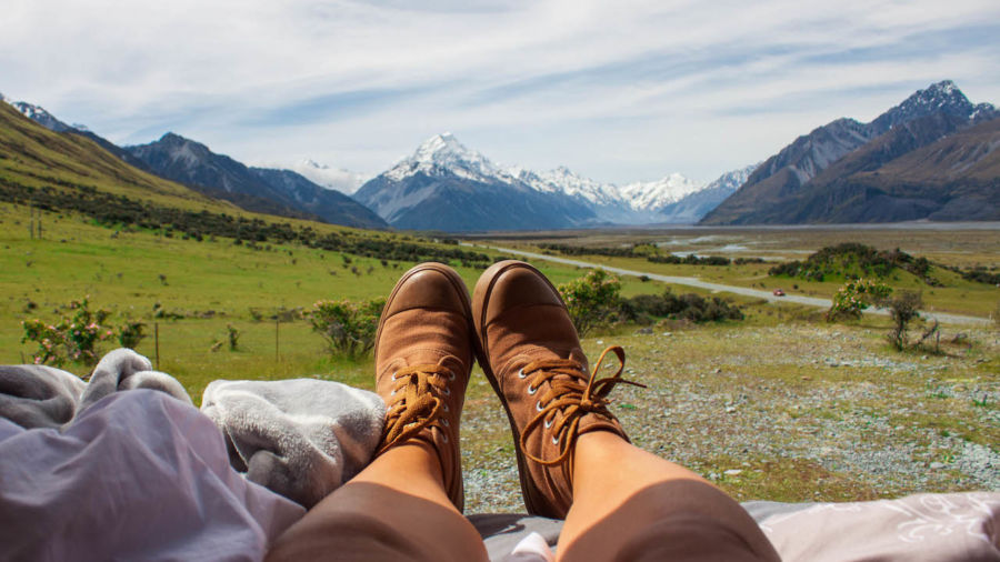 13 images of next level vanlife in New Zealand