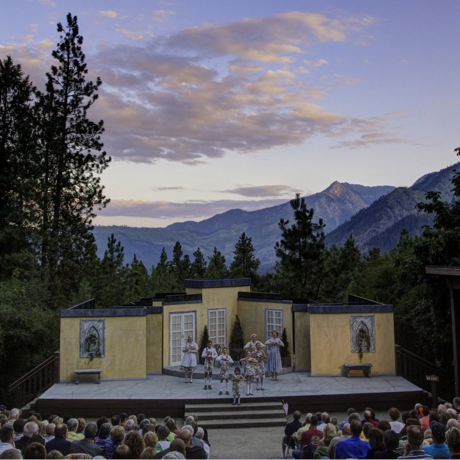 Leavenworth outdoor theatre