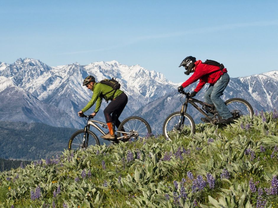 Leavenworth mountain biking