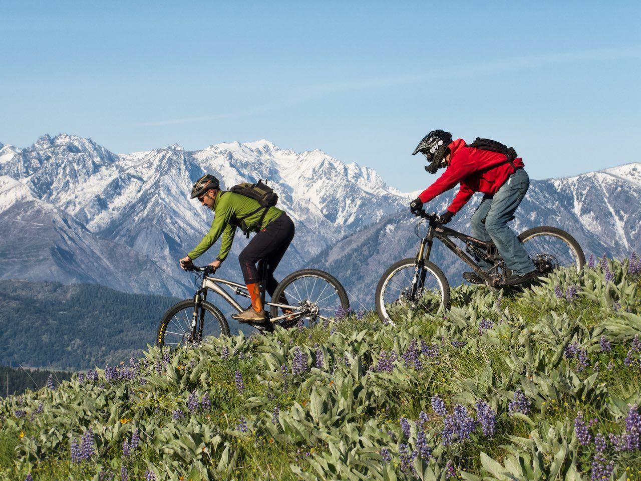 Leavenworth mountain biking