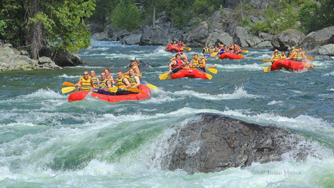 Leavenworth river rafting
