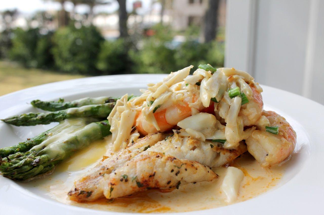 Shrimp fish dish