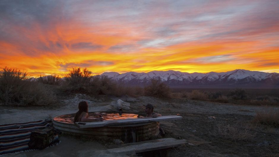 Spencer Hot Springs Nevada