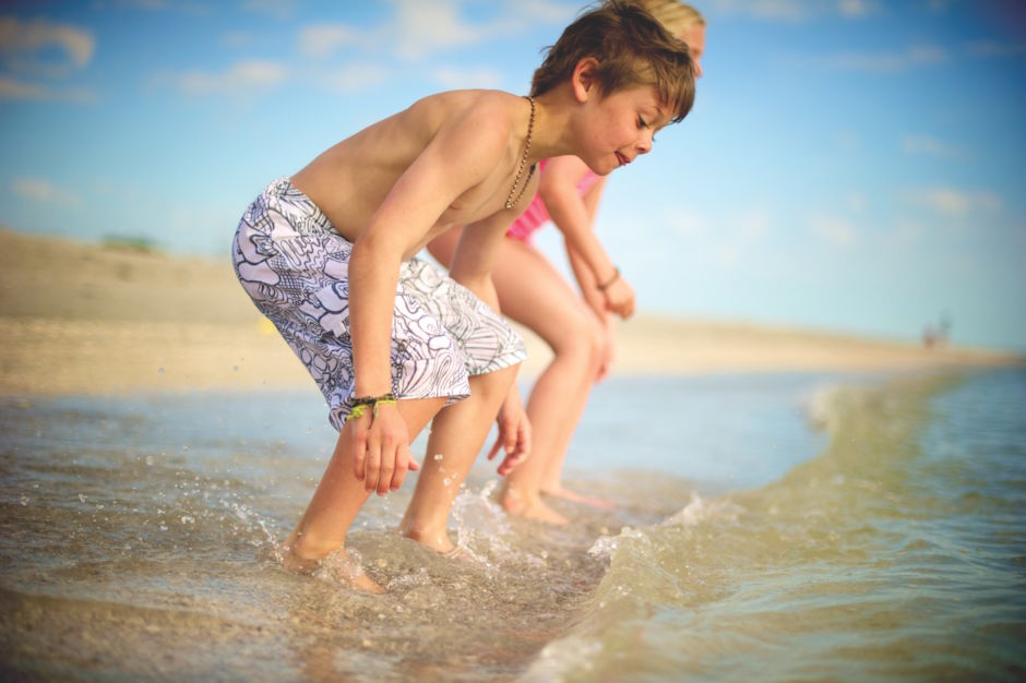 Fort Myers and Sanibel beach kids