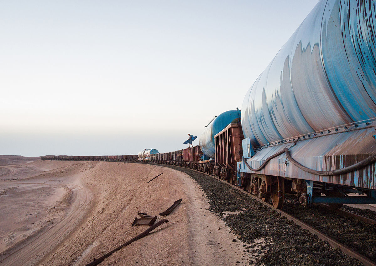 Crossing the Sahara: A journey on Mauritania's infamous iron ore