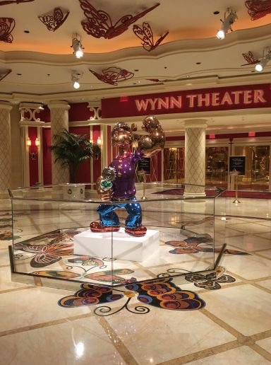 Fresh  Jeff Koons u Popeye at The Wynn