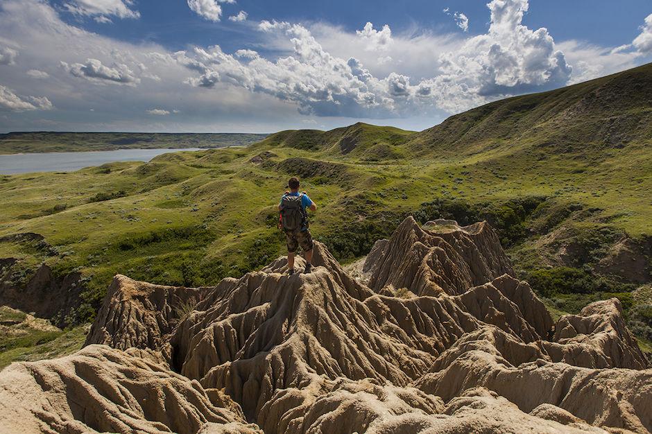 Beechy sandcastle Saskatchewan