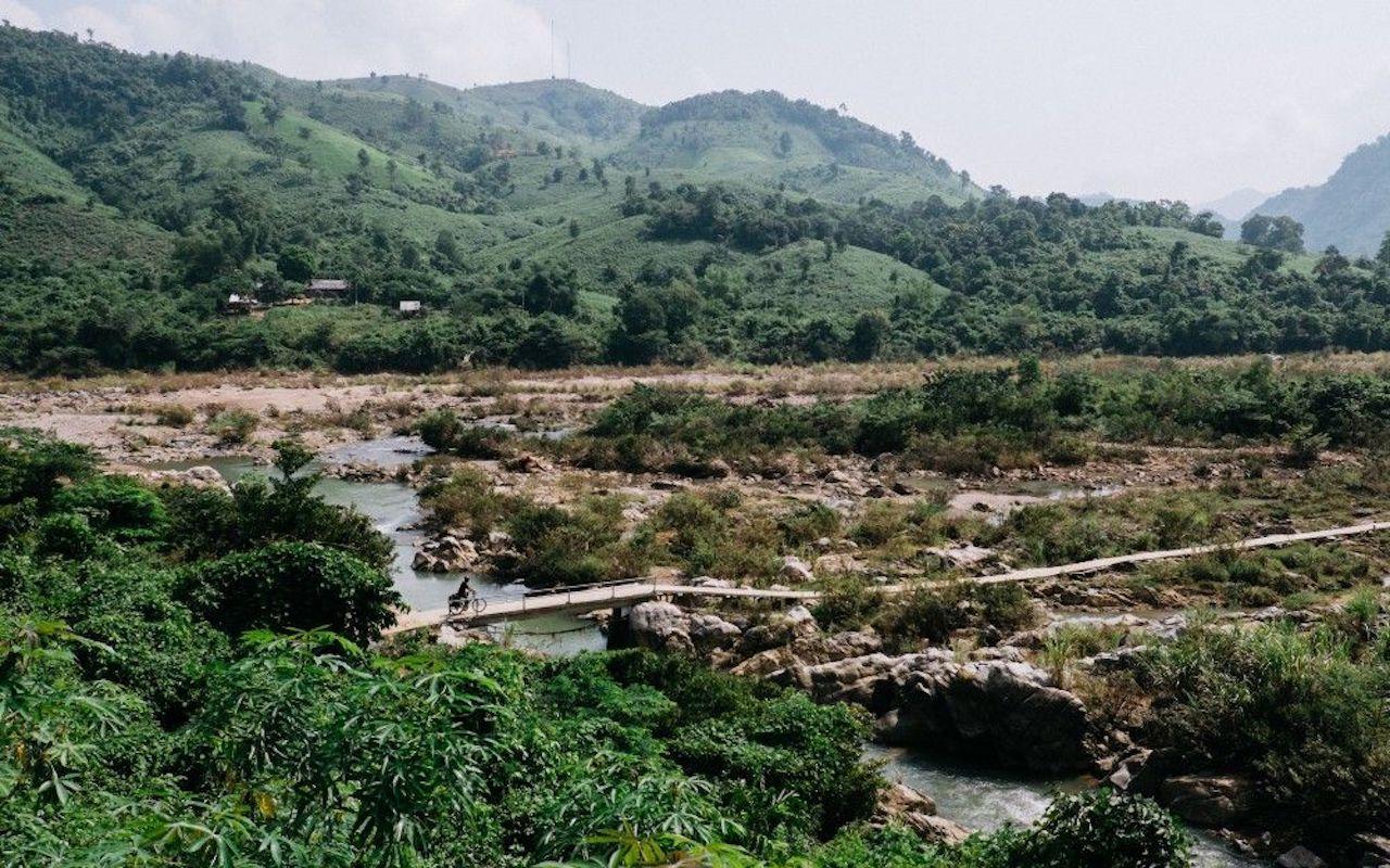 Bike trail Vietnam