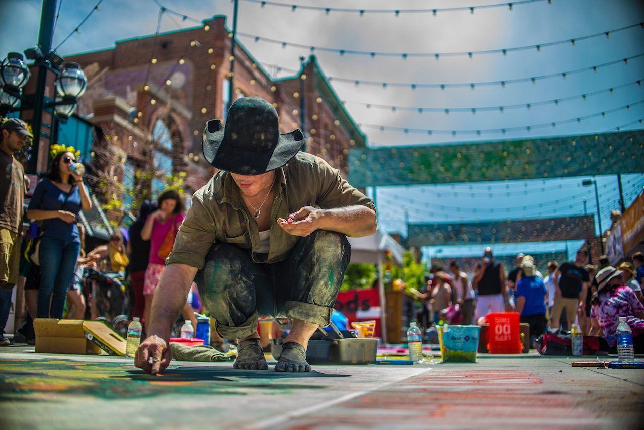 Chalk Art Festival Denver