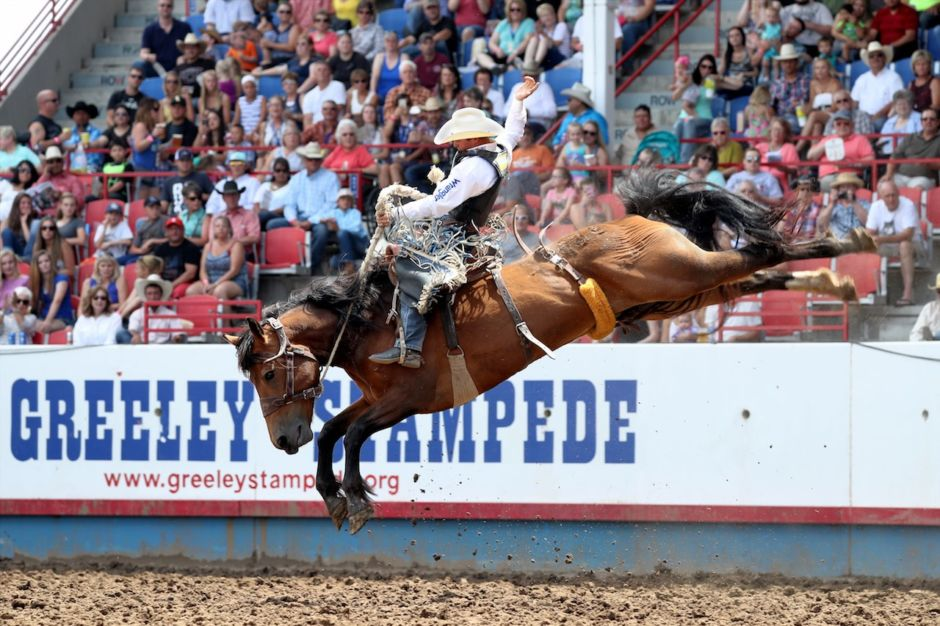 Greeley Stampede Rodeo Colorado