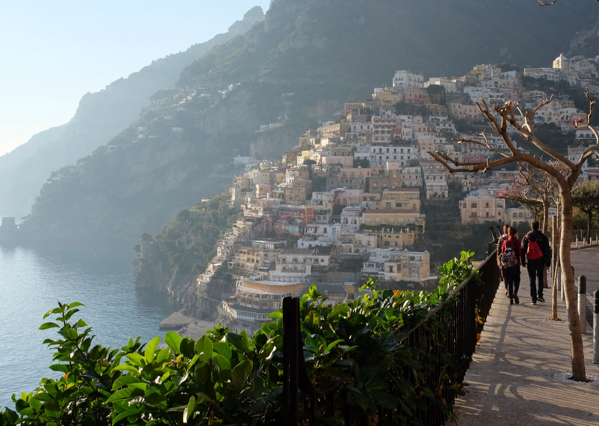 From Rome to Amalfi by train: A gallery of an epic trip through Italy