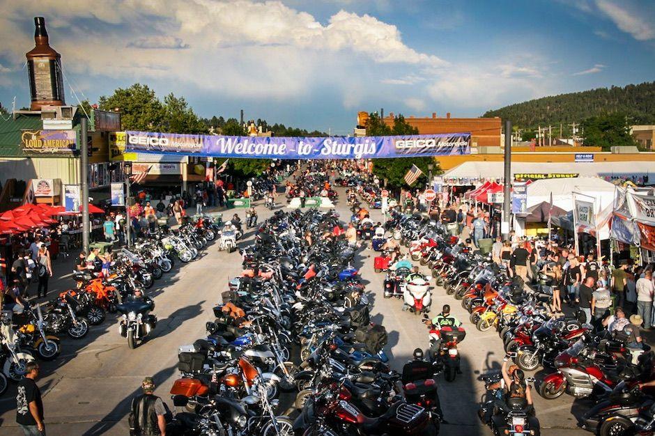 Sturgis Motorcycle Rally South Dakota