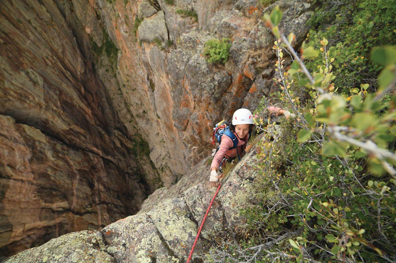 Black Canyon of the Gunnison rock climbing
