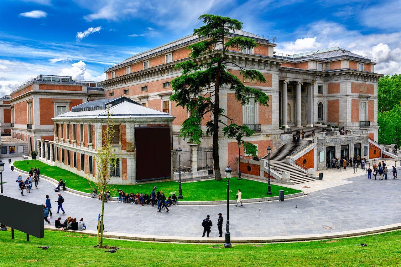 Building of Museo Nacional del Prado