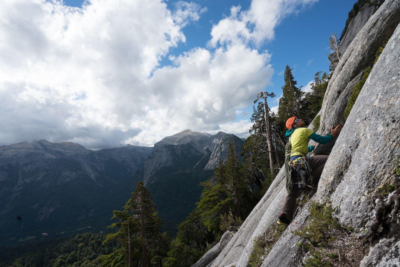 Chile climbing