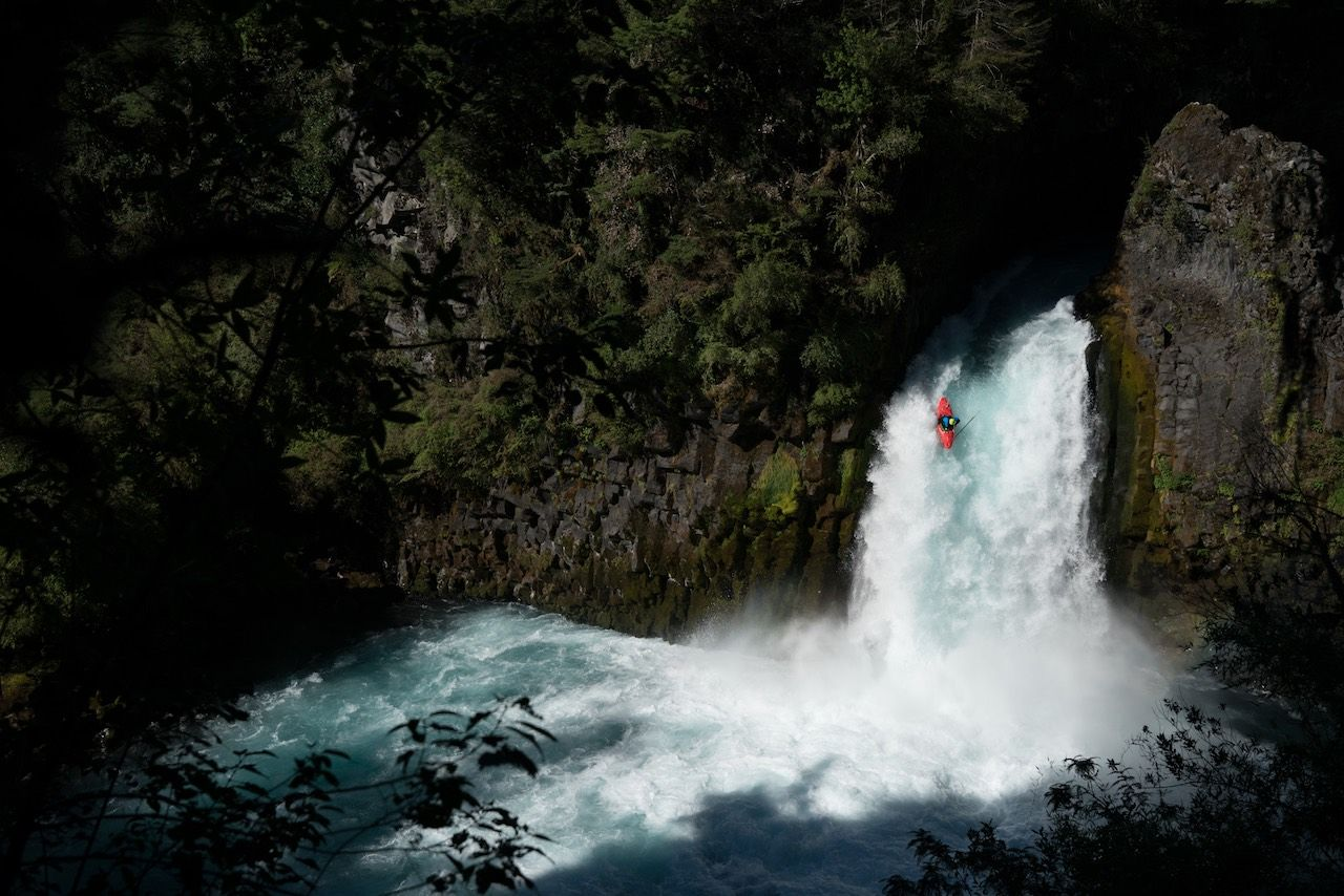 Chile kayaking