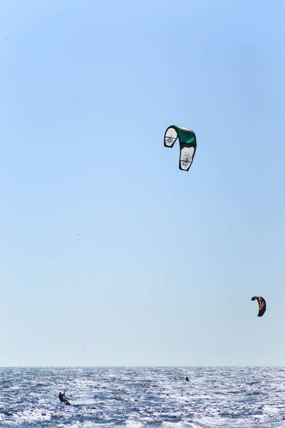 Chile kitesurf