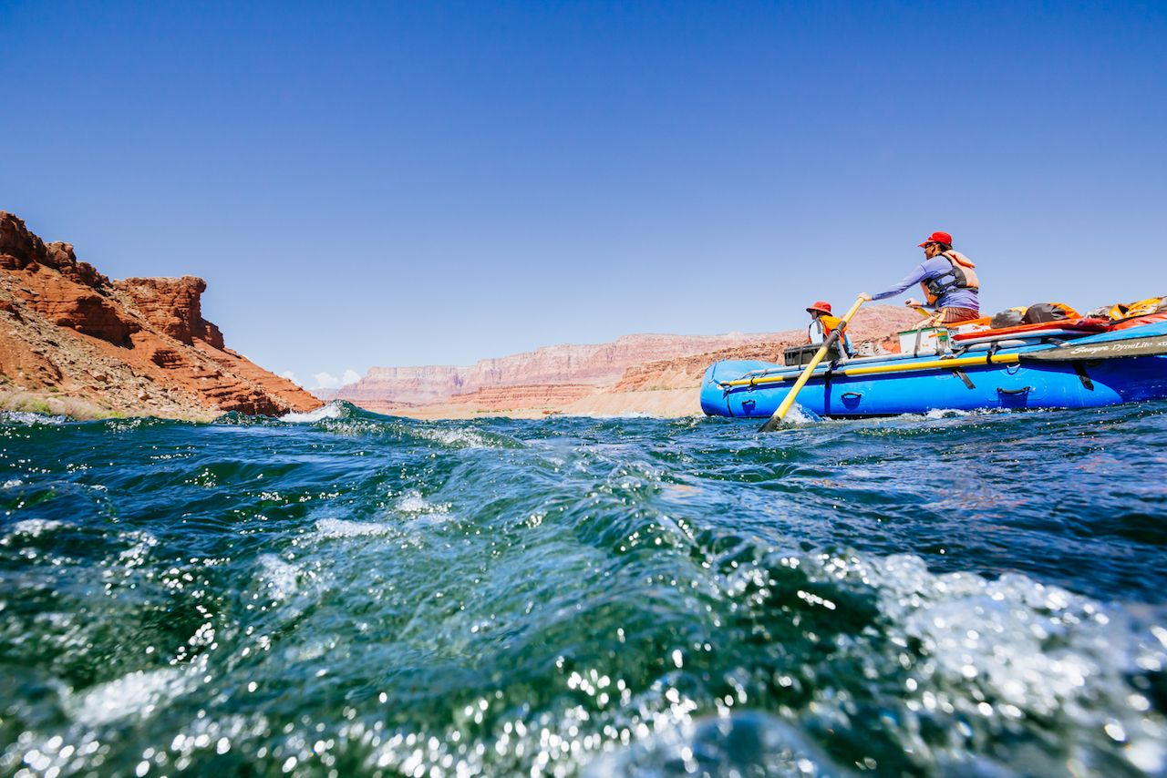 How to plan a rafting trip to the Grand Canyon