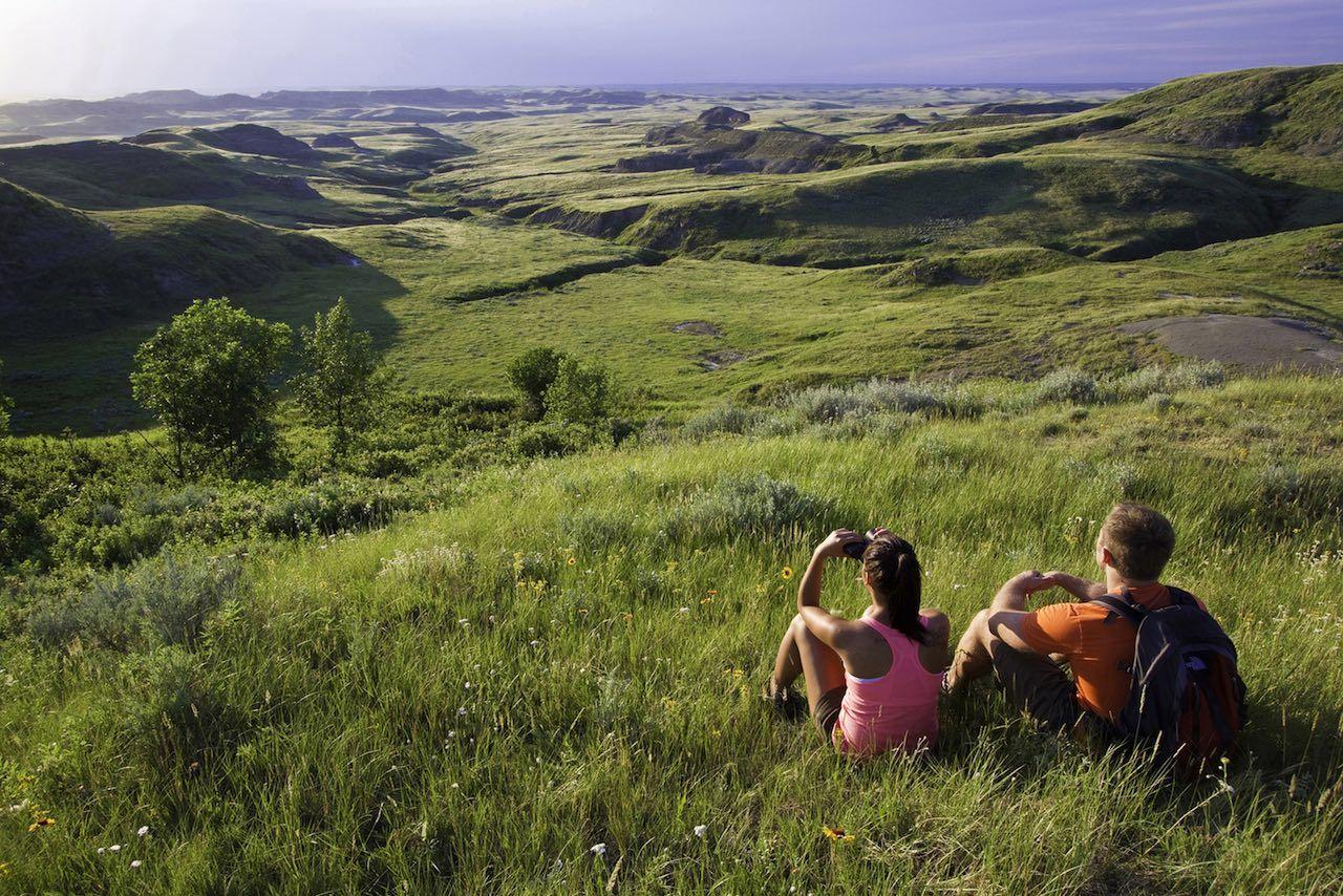 Saskatchewan Grasslands couple
