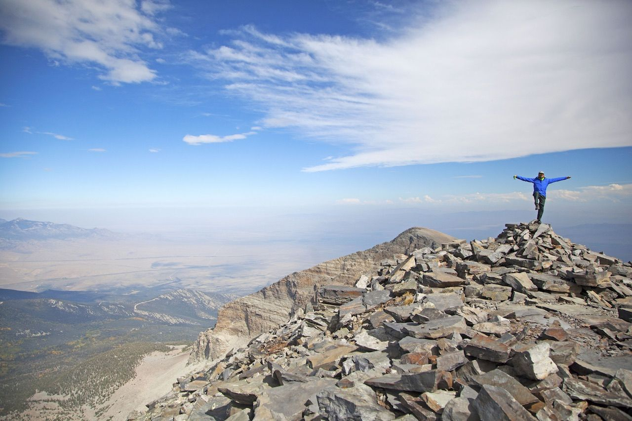 Great Basin Nevada mountain