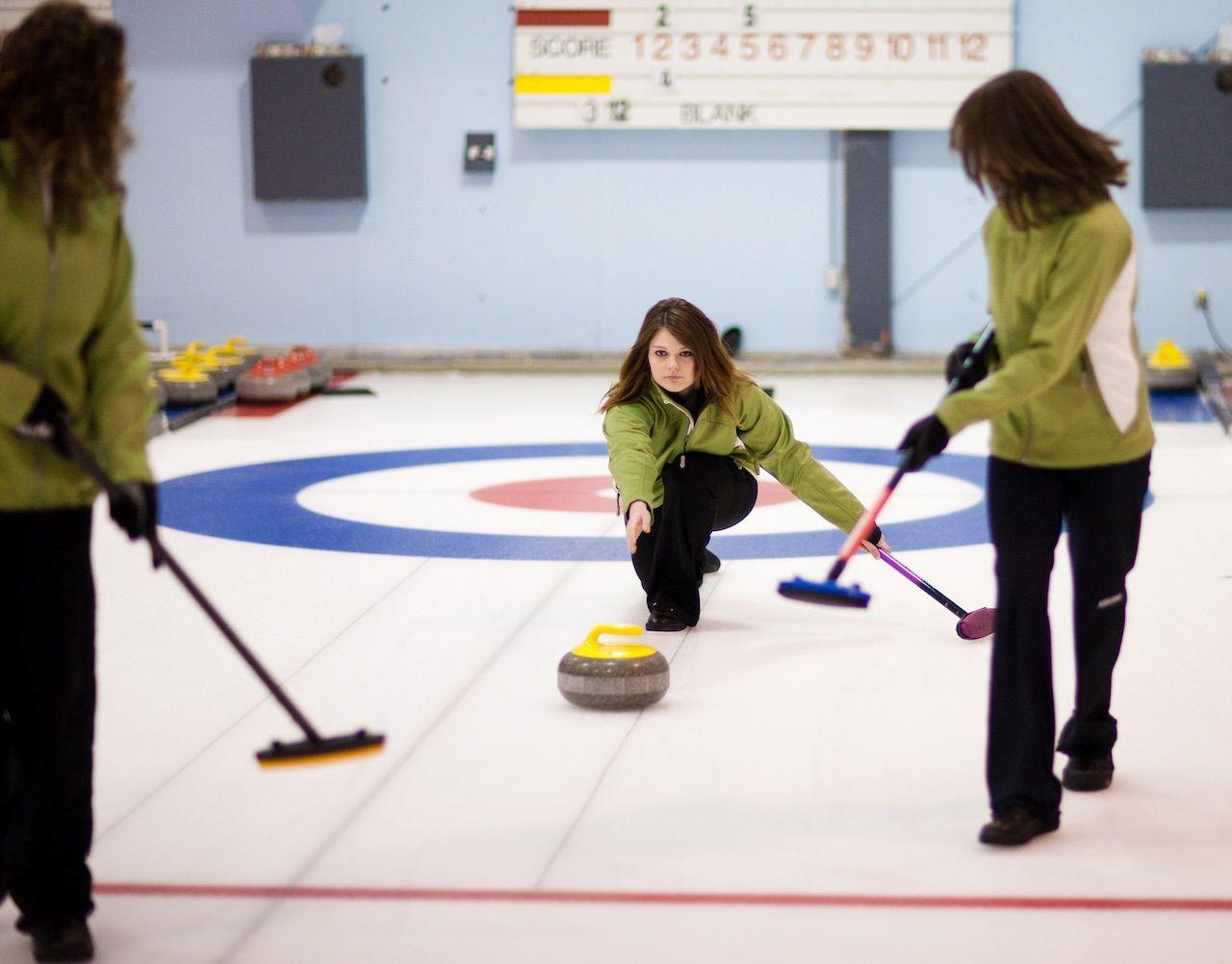 Curling Regina Saskatchewan