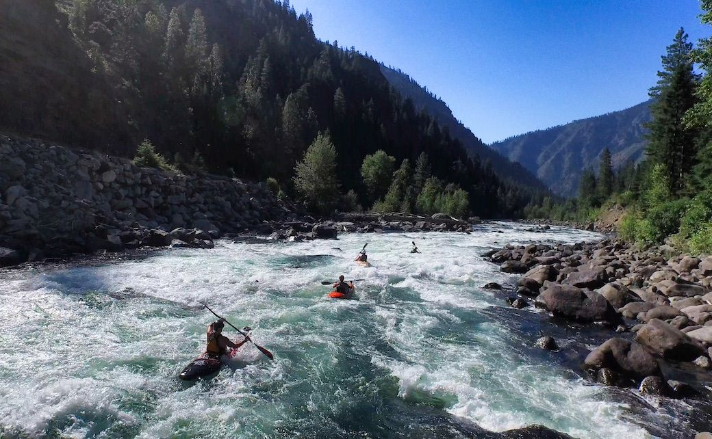 Kayak Wenatchee River Leavenworth