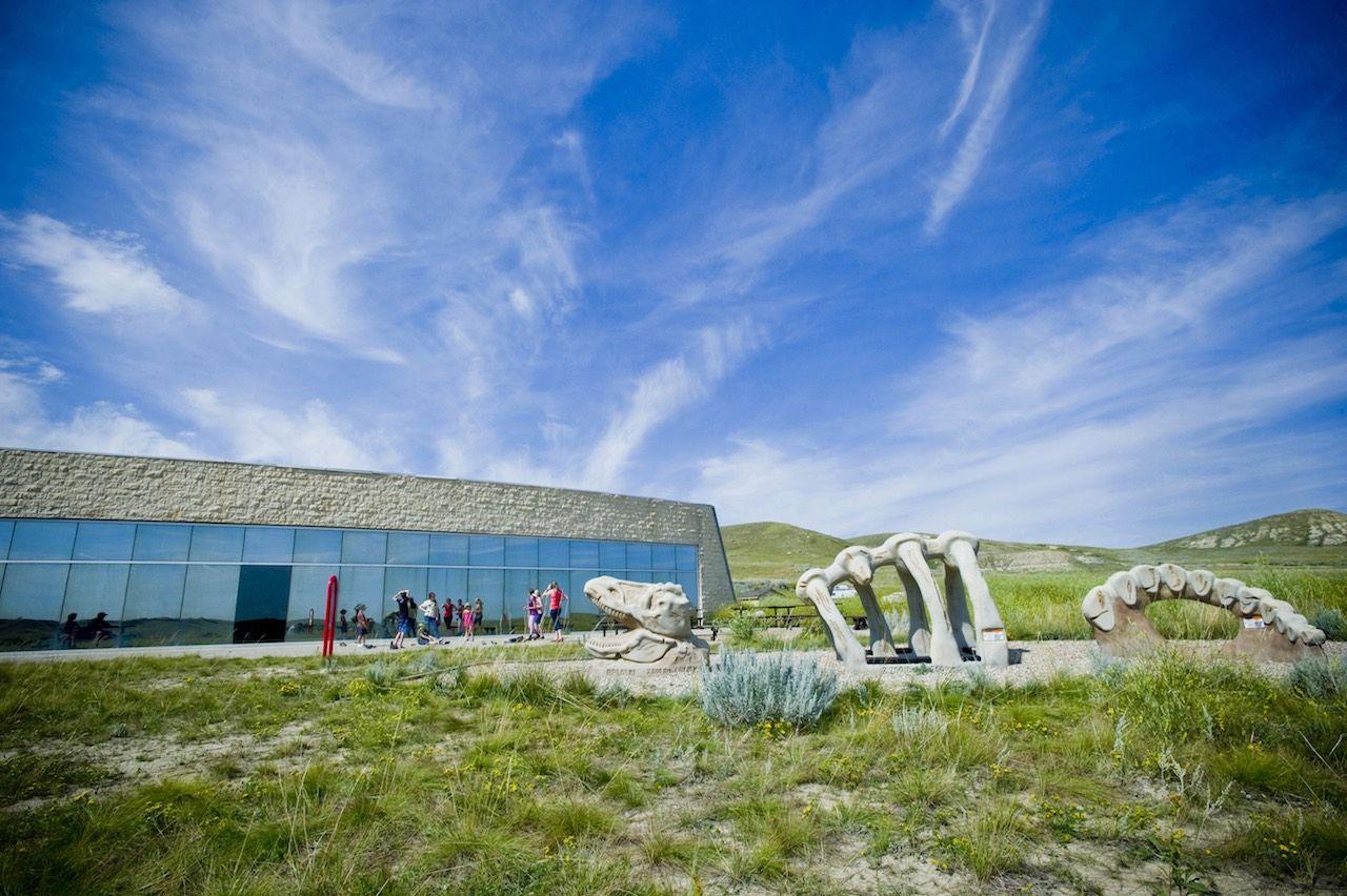 Saskatchewan T rex Discovery Center