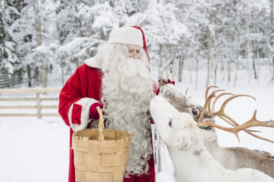 Papá Noel en Finlandia