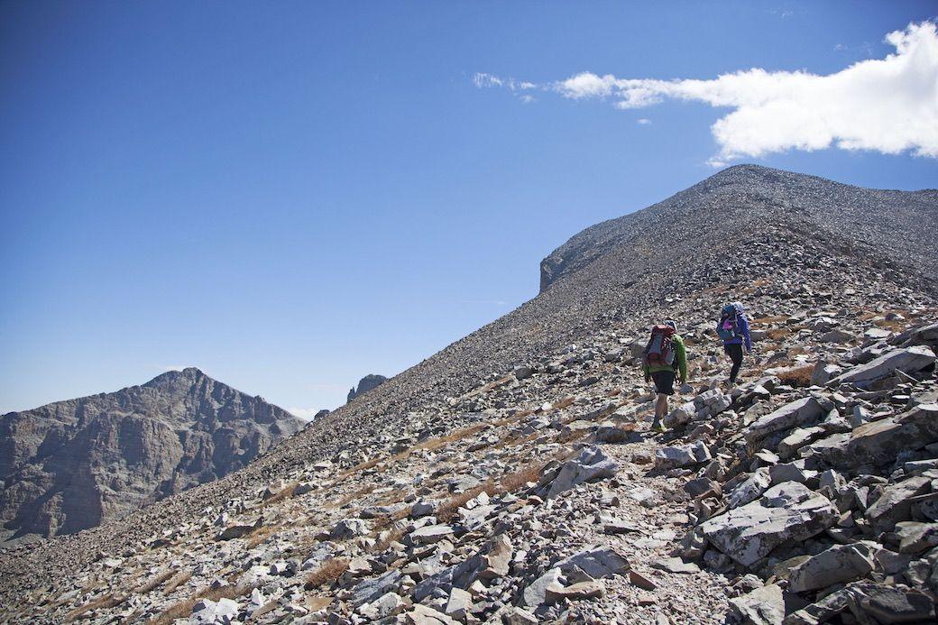 Wheeler Peak Great Basin Nevada