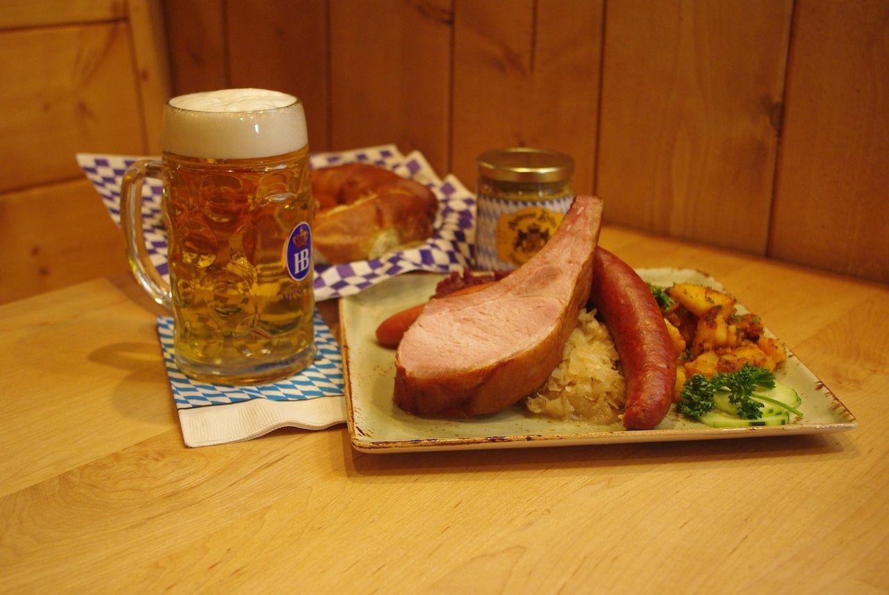 Andreas Keller Leavenworth restaurant beer