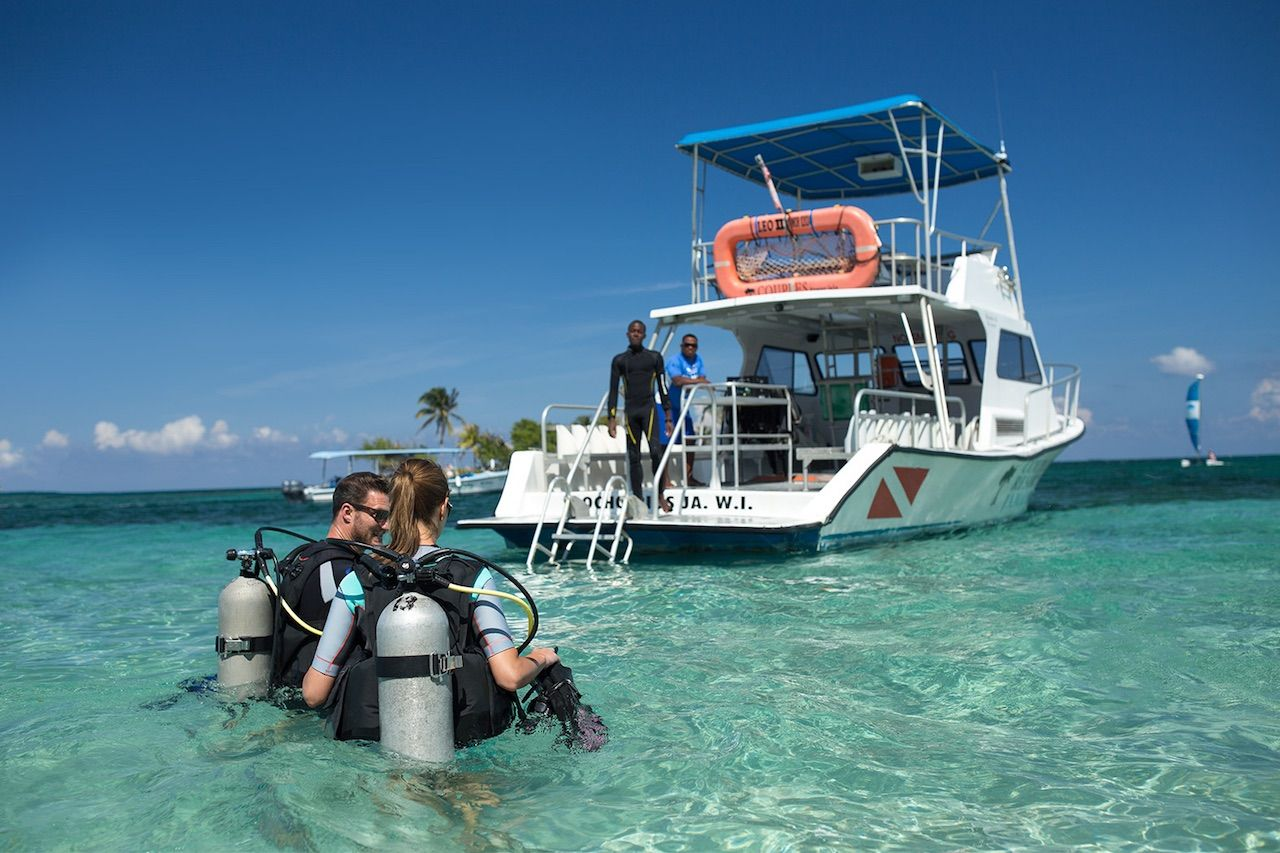 Couples Resorts Jamaica Scuba Diving