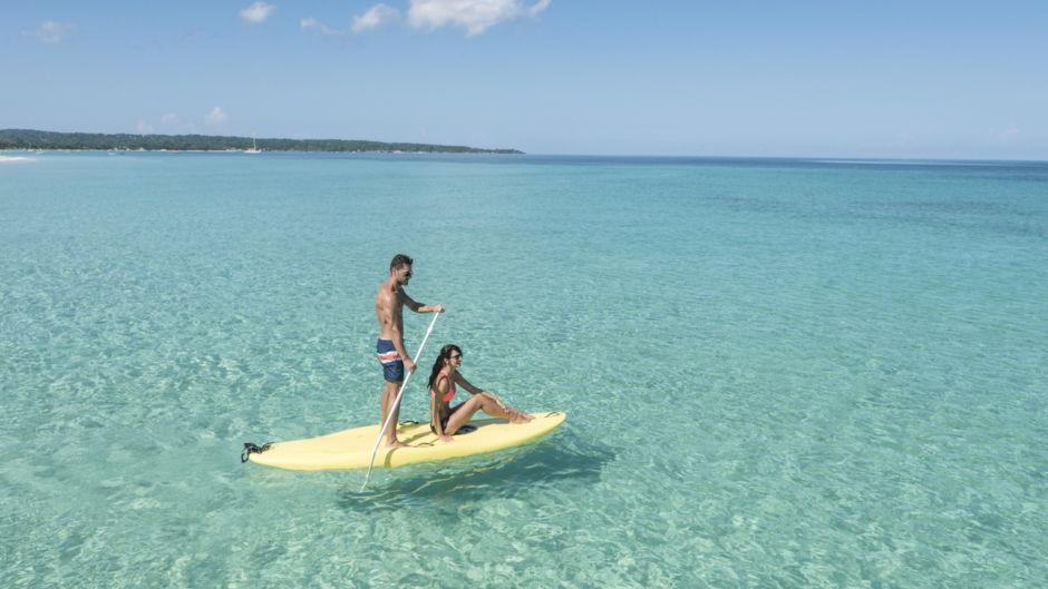 Couples Resorts Jamaica paddleboard