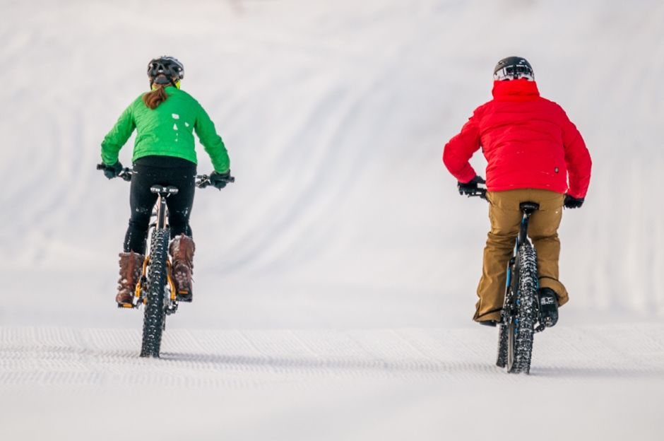 Traverse City winter fat bike
