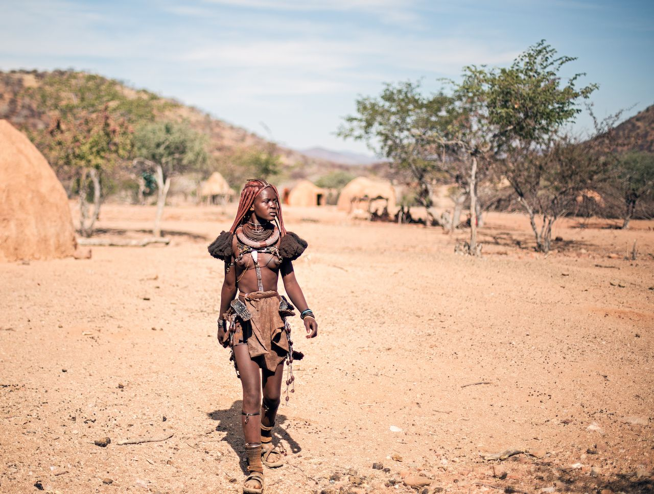 Discover the unique Himba people of Namibia, Africa