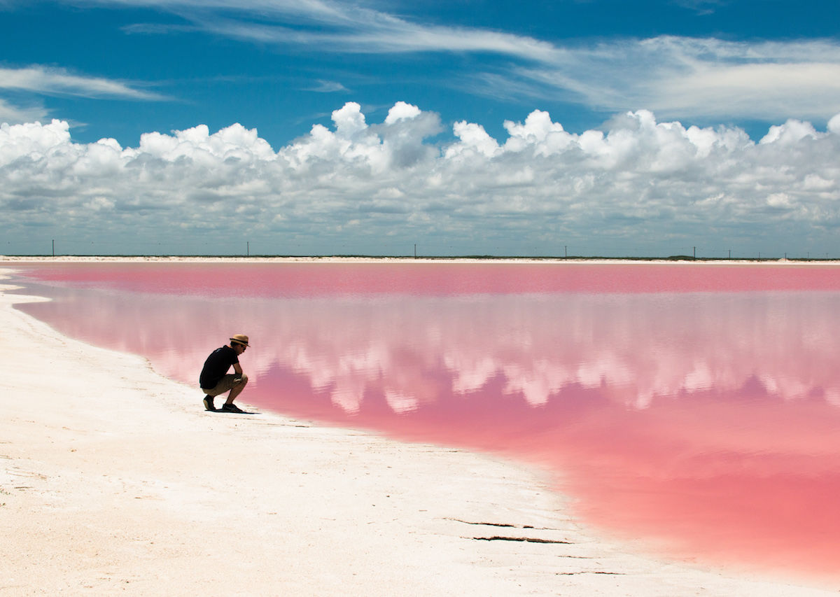How to visit the pink lakes of Las Coloradas