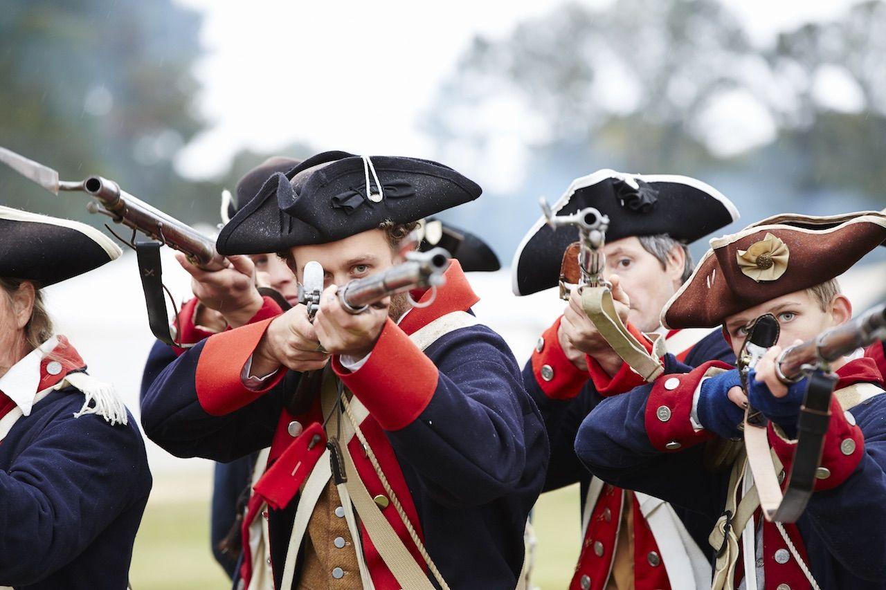 Camden Revolutionary War Site South Carolina