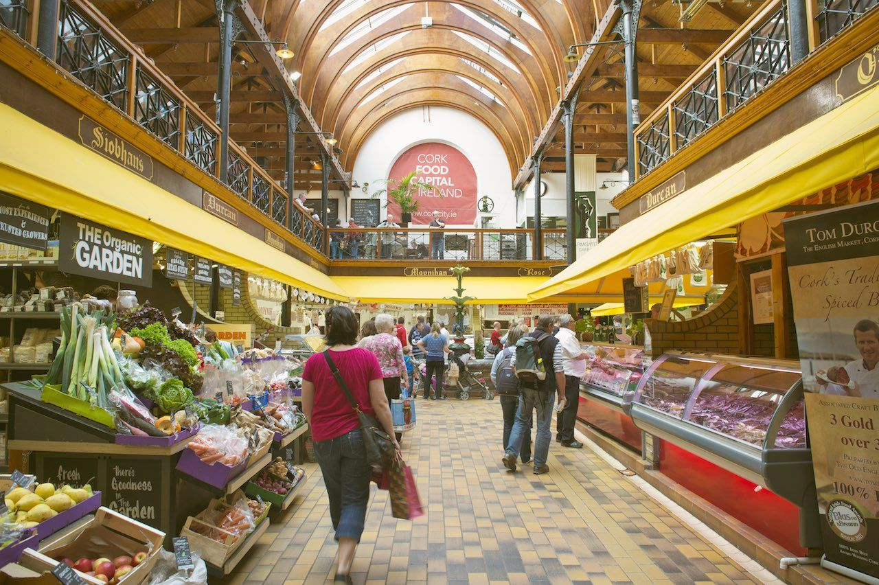 English Market food Ireland
