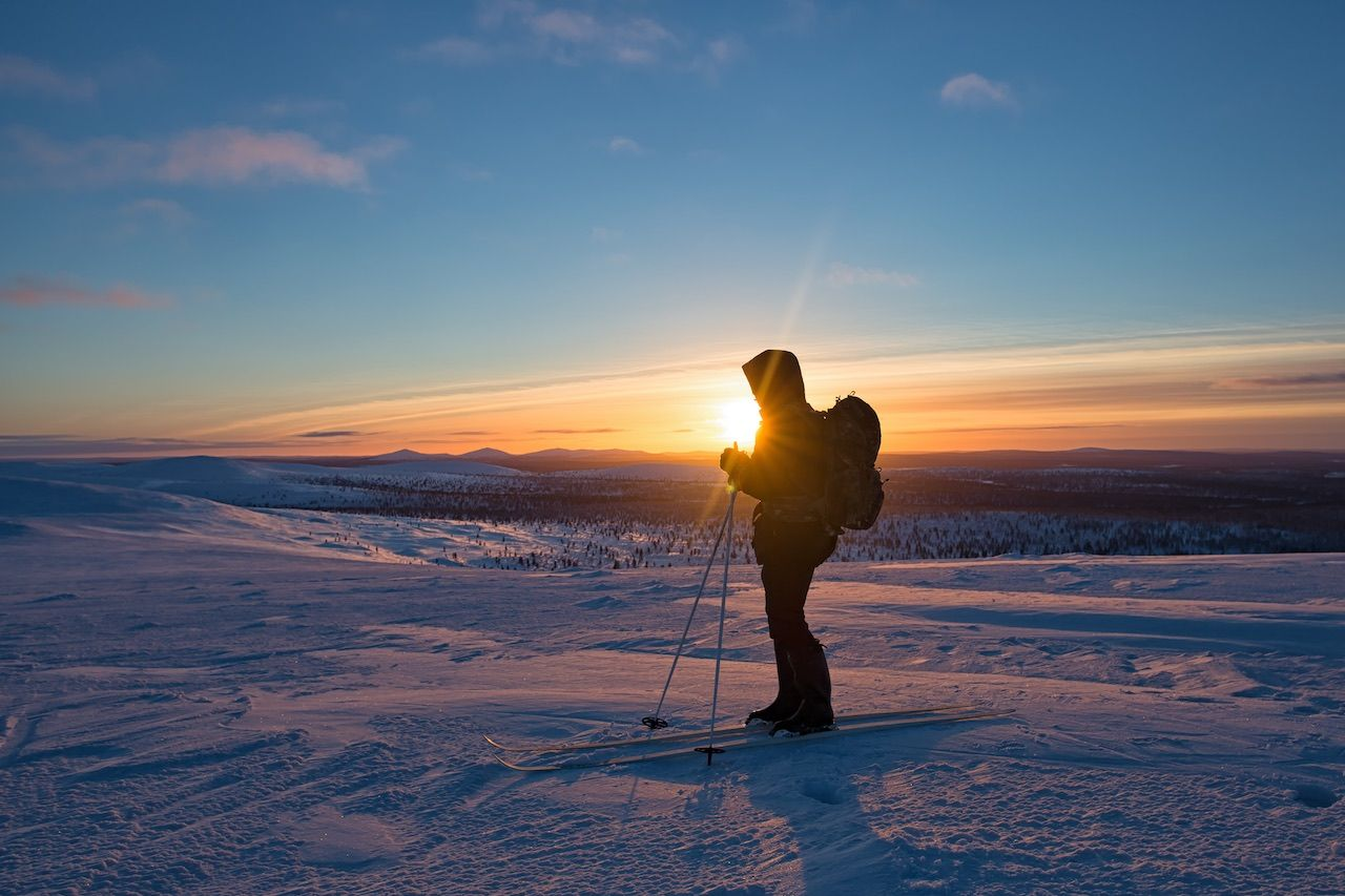 Cross country ski Finland