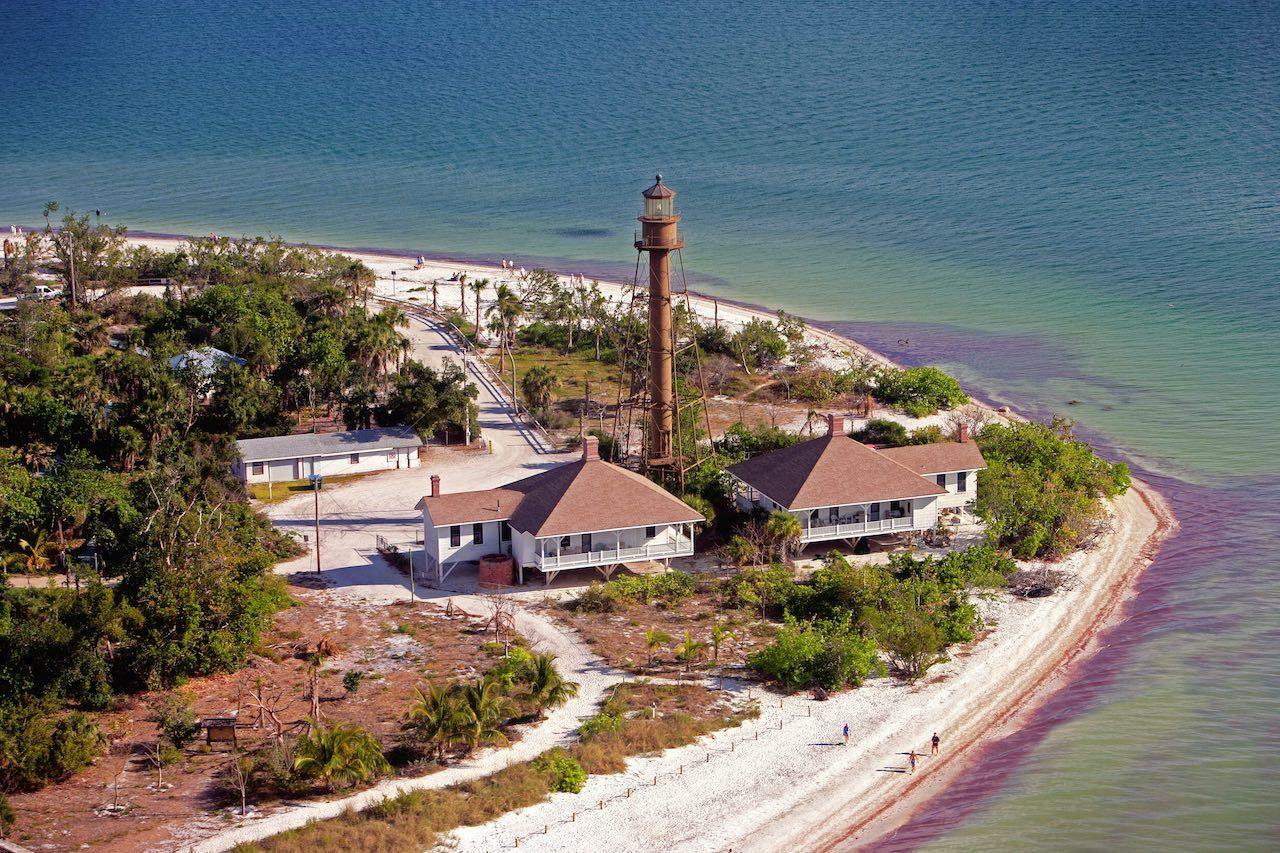 Sanibel lighthouse Florida