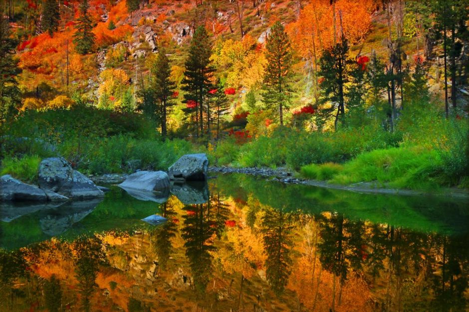 Wenatchee River Autumn Leavenworth