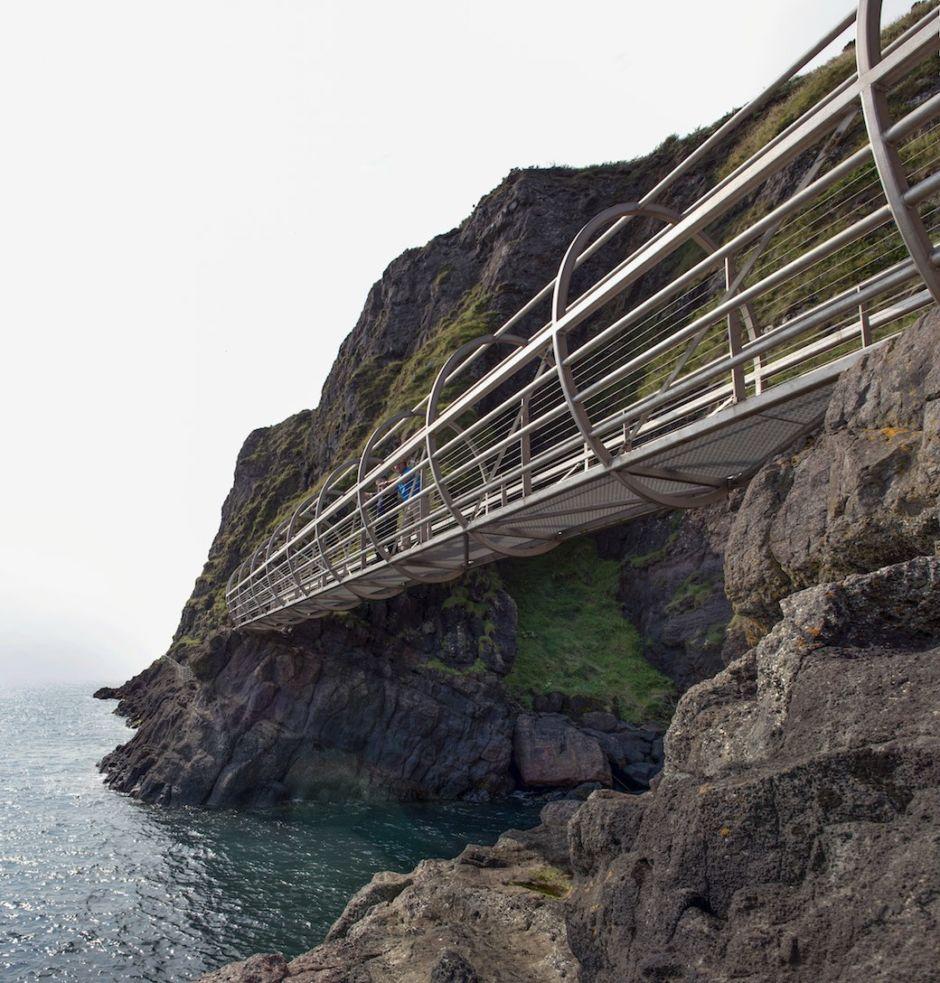 The Gobbins County Antrim Ireland