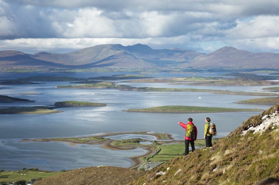 Croagh Patrick County Mayo Ireland