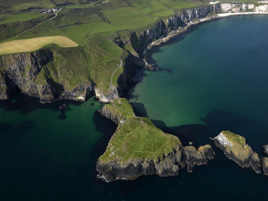 Carrick Island County Antrim Ireland