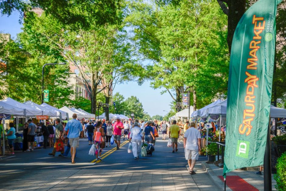 Greenville SC Saturday Market