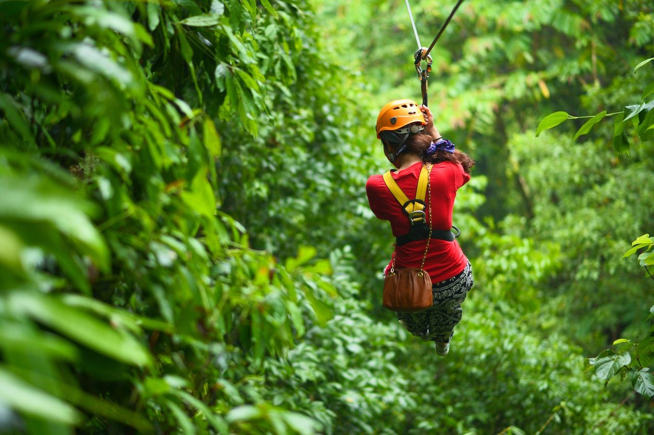 Canopy Tour Couples Resorts