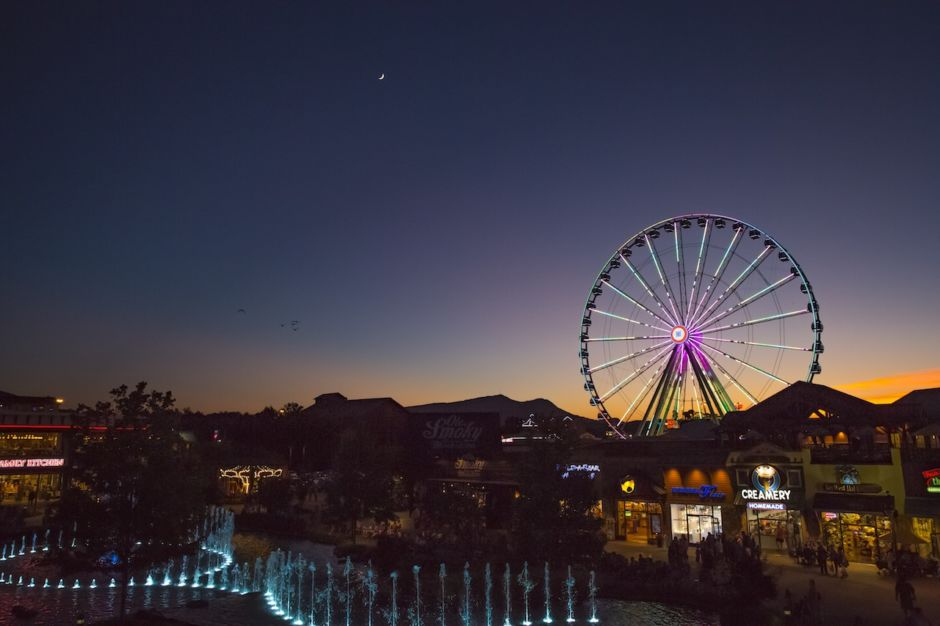 Great Smoky Mountains Wheel Pigeon Forge