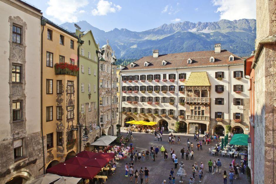 Innsbruck Austria Alps