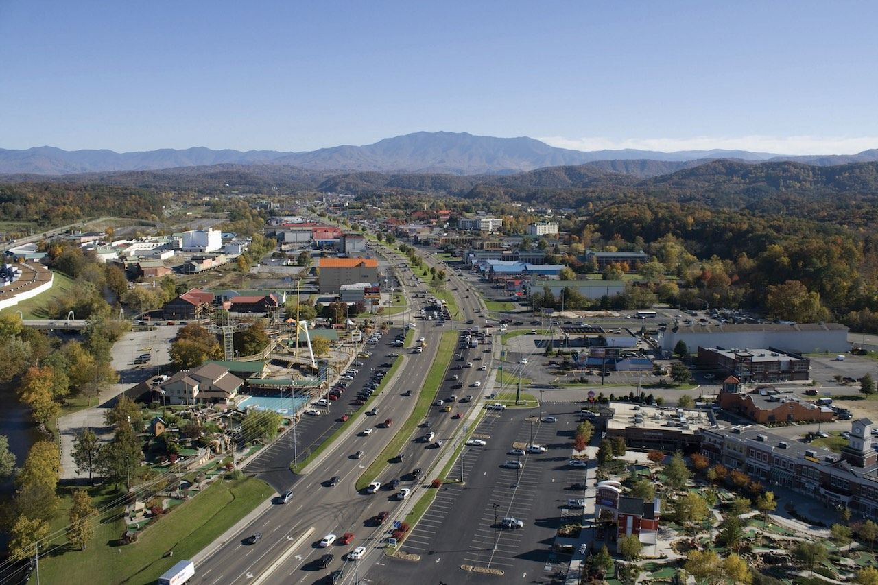 Pigeon Forge Tennessee Parkway