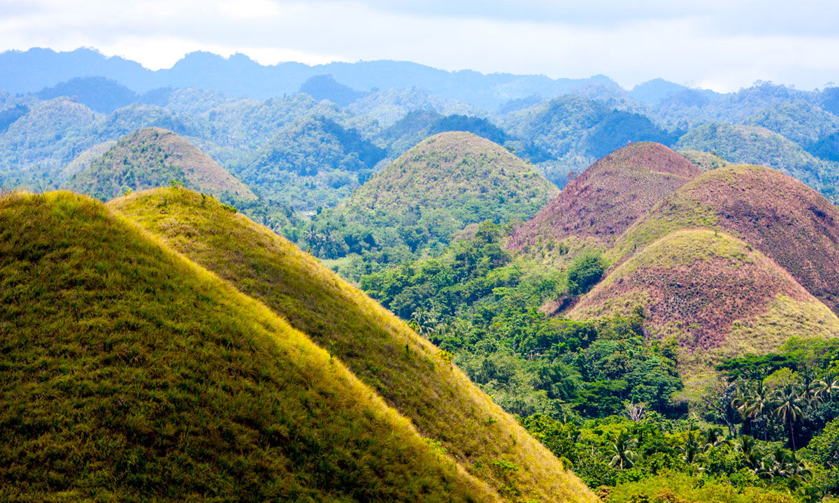 guide to the chocolate hills in bohol philippines how to visit